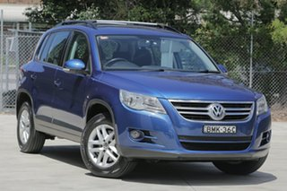 2010 Volkswagen Tiguan 125TSI 125TSI Blue Manual Wagon.