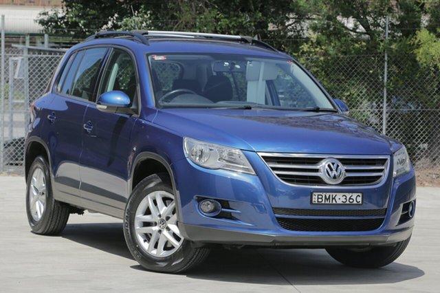 Used Volkswagen Tiguan 5N MY10 125TSI 4MOTION, 2010 Volkswagen Tiguan 5N MY10 125TSI 4MOTION Blue 6 Speed Manual Wagon