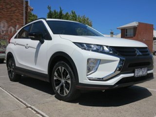 2018 Mitsubishi Eclipse Cross YA MY18 ES (2WD) White Continuous Variable Wagon.