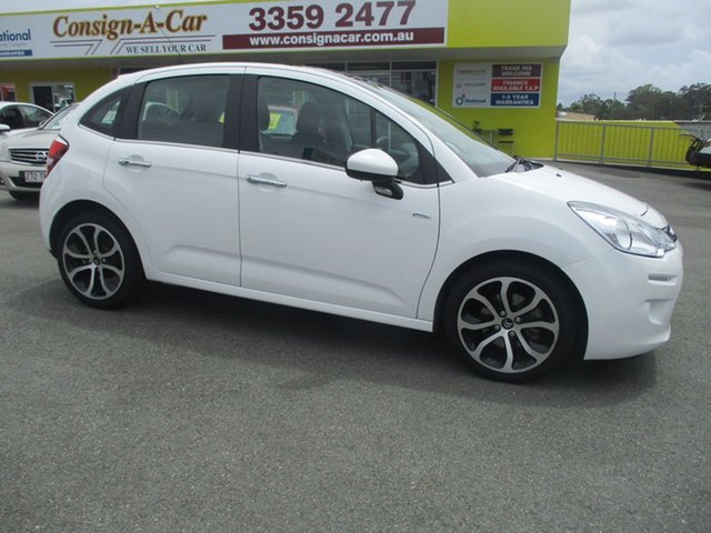 Used Citroen C3 A51 MY14 Exclusive, 2013 Citroen C3 A51 MY14 Exclusive White 4 Speed Sports Automatic Hatchback
