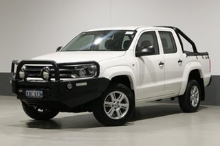 2016 Volkswagen Amarok 2H MY16 TDI420 Core Plus (4x4) White 8 Speed Automatic Dual Cab Utility.