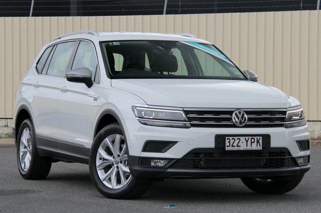 Demo Volkswagen Tiguan 5N MY18 110TDI Comfortline DSG 4MOTION Allspace, 2018 Volkswagen Tiguan 5N MY18 110TDI Comfortline DSG 4MOTION Allspace Pure White 7 Speed
