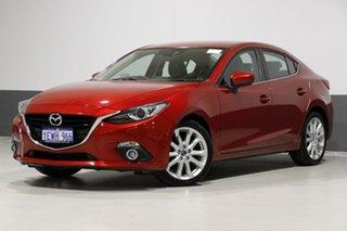 2015 Mazda 3 BM MY15 SP25 GT Soul Red 6 Speed Automatic Sedan.