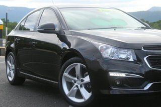 2015 Holden Cruze JH Series II MY15 SRi-V Black 6 Speed Manual Sedan