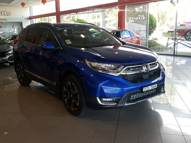 Demo Honda CR-V RW MY18 VTi-LX 4WD, 2018 Honda CR-V RW MY18 VTi-LX 4WD Brilliant Sporty Blue 1 Speed Constant Variable Wagon