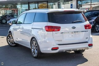 2018 Kia Carnival YP MY19 Platinum Clear White 8 Speed Sports Automatic Wagon