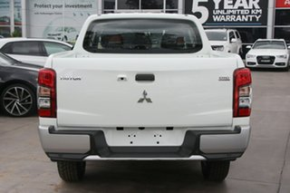 2020 Mitsubishi Triton MR MY20 GLX+ Double Cab White 6 Speed Sports Automatic Utility