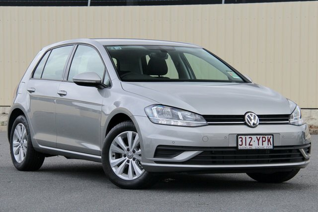 Demo Volkswagen Golf 7.5 MY18 110TSI Trendline, 2018 Volkswagen Golf 7.5 MY18 110TSI Trendline Tungsten Silver 6 Speed Manual Hatchback