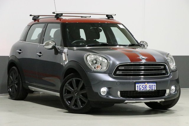 Used Mini Cooper R60 MY15 Countryman D Park Lane, 2016 Mini Cooper R60 MY15 Countryman D Park Lane Grey 6 Speed Automatic Wagon
