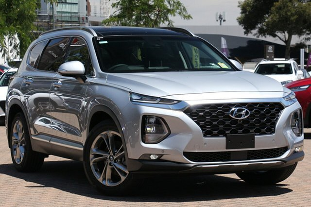 New Hyundai Santa Fe TM MY19 Highlander, 2018 Hyundai Santa Fe TM MY19 Highlander Typhoon Silver 8 Speed Sports Automatic Wagon