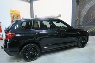 2012 BMW X3 F25 MY0412 xDrive20d Steptronic Black 8 Speed Automatic Wagon