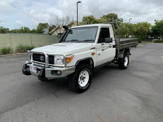 Used Toyota Landcruiser VDJ79R Workmate, 2012 Toyota Landcruiser VDJ79R Workmate White 5 Speed Manual Utility
