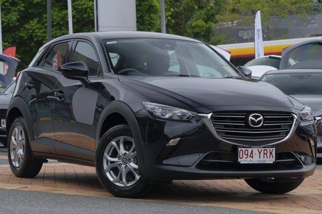 Demo Mazda CX-3 DK2W76 Maxx SKYACTIV-MT, 2018 Mazda CX-3 DK2W76 Maxx SKYACTIV-MT Jet Black 6 Speed Manual Wagon