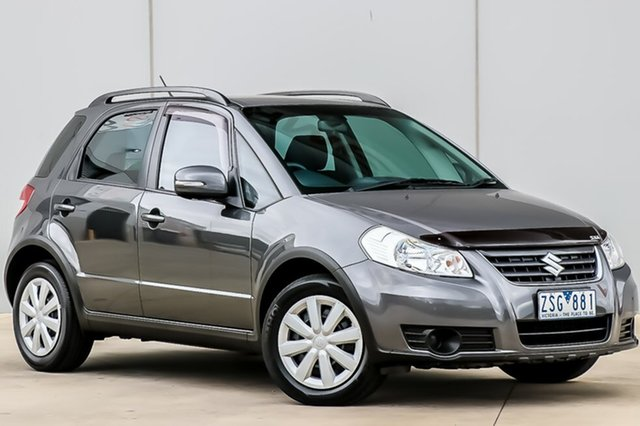 Used Suzuki SX4 GYA MY13 Crossover Navigator, 2013 Suzuki SX4 GYA MY13 Crossover Navigator Mineral Grey 6 Speed Constant Variable Hatchback