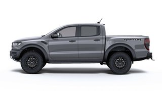 2018 Ford Ranger PX MkIII 2019.00MY Raptor Pick-up Double Cab Conquer Grey 10 Speed Sports Automatic