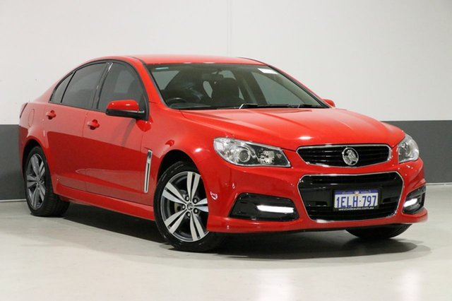 Used Holden Commodore VF SV6, 2013 Holden Commodore VF SV6 Red 6 Speed Automatic Sedan