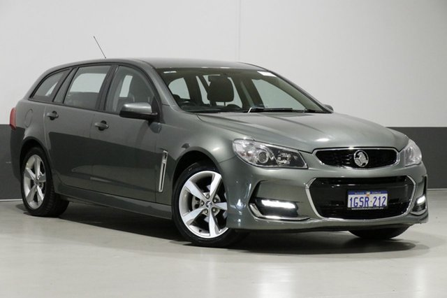 Used Holden Commodore VF II SV6, 2016 Holden Commodore VF II SV6 Grey 6 Speed Automatic Sportswagon