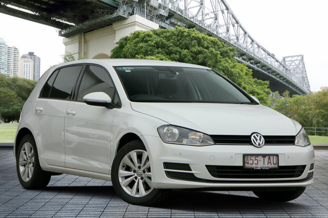 Used Volkswagen Golf VII 90TSI DSG Comfortline, 2013 Volkswagen Golf VII 90TSI DSG Comfortline White 7 Speed Sports Automatic Dual Clutch Hatchback