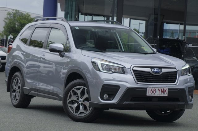 Demo Subaru Forester S5 MY19 2.5i CVT AWD, 2018 Subaru Forester S5 MY19 2.5i CVT AWD Ice Silver 7 Speed Constant Variable Wagon