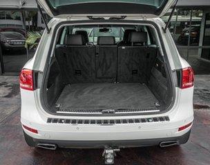 2011 Volkswagen Touareg 7P MY12 V6 TDI 4Xmotion White 8 Speed Automatic Wagon