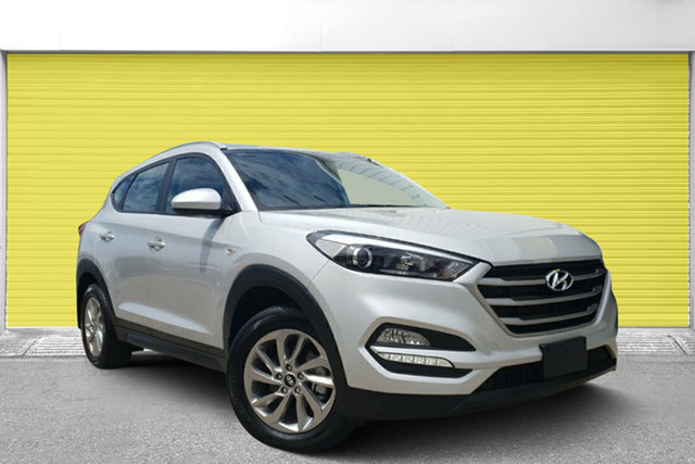 Used Hyundai Tucson TL2 MY18 Active 2WD, 2017 Hyundai Tucson TL2 MY18 Active 2WD Silver 6 Speed Sports Automatic Wagon