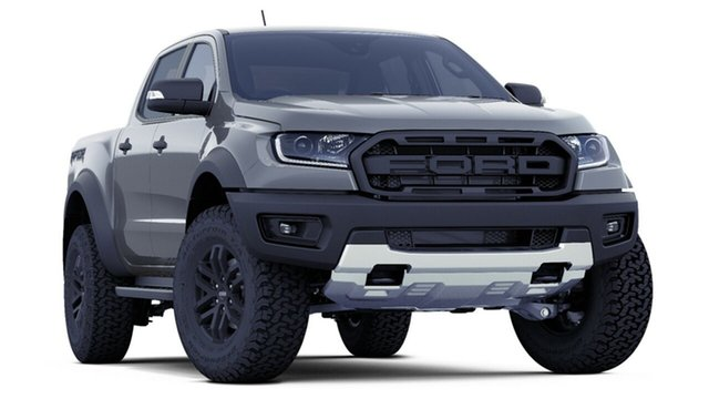 New Ford Ranger PX MkIII 2019.00MY Raptor Pick-up Double Cab, 2018 Ford Ranger PX MkIII 2019.00MY Raptor Pick-up Double Cab Conquer Grey 10 Speed Sports Automatic