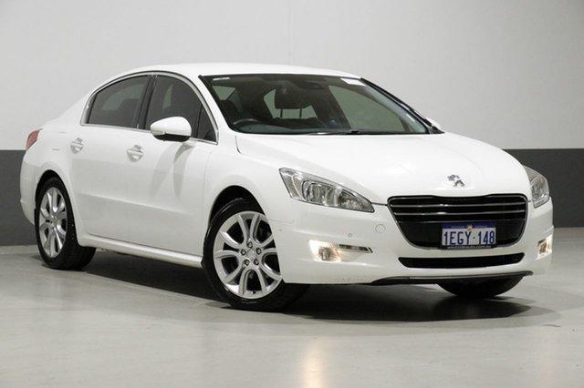 Used Peugeot 508 MY13 Allure 1.6T, 2013 Peugeot 508 MY13 Allure 1.6T White 6 Speed Automatic Sedan