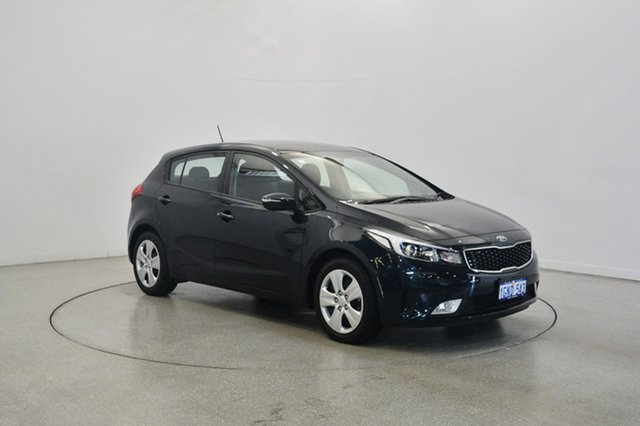 Used Kia Cerato YD MY18 S, 2018 Kia Cerato YD MY18 S Gravity Blue 6 Speed Sports Automatic Hatchback