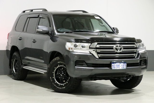 Used Toyota Landcruiser VDJ200R MY16 GXL (4x4), 2016 Toyota Landcruiser VDJ200R MY16 GXL (4x4) Graphite 6 Speed Automatic Wagon