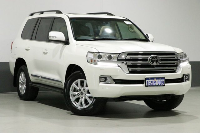 Used Toyota Landcruiser VDJ200R MY16 Sahara (4x4), 2016 Toyota Landcruiser VDJ200R MY16 Sahara (4x4) White 6 Speed Automatic Wagon