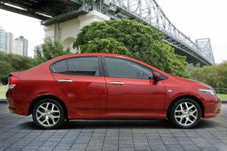 2011 Honda City GM MY11 VTi-L Red 5 Speed Automatic Sedan.
