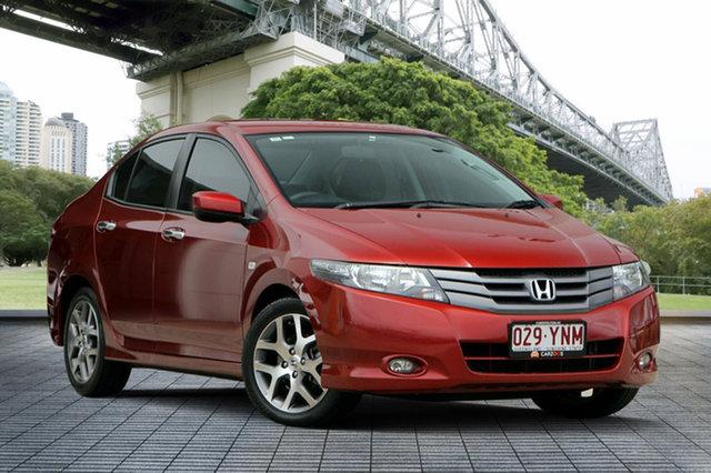 Used Honda City GM MY11 VTi-L, 2011 Honda City GM MY11 VTi-L Red 5 Speed Automatic Sedan
