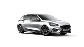 2019 Ford Focus SA 2019.75MY ST-Line Silver 8 Speed Automatic Hatchback.