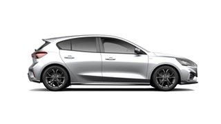 2019 Ford Focus SA 2019.75MY ST-Line Moondust Silver 8 Speed Automatic Hatchback.