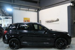 2012 BMW X3 F25 MY0412 xDrive20d Steptronic Black 8 Speed Automatic Wagon.