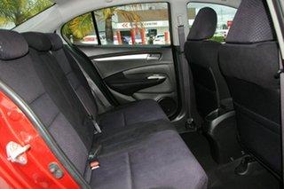 2011 Honda City GM MY11 VTi-L Red 5 Speed Automatic Sedan