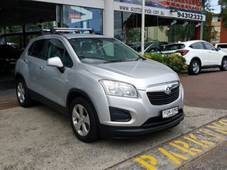 2016 Holden Trax TJ MY16 Active Silver 6 Speed Automatic Wagon.