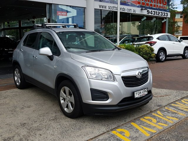 Used Holden Trax TJ MY16 Active, 2016 Holden Trax TJ MY16 Active Silver 6 Speed Automatic Wagon