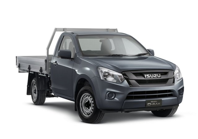 Demo Isuzu D-MAX MY18 SX 4x2, 2018 Isuzu D-MAX MY18 SX 4x2 Obsidian Grey 6 Speed Manual Cab Chassis