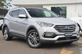 2017 Hyundai Santa Fe DM3 MY17 Highlander Silver 6 Speed Sports Automatic Wagon.