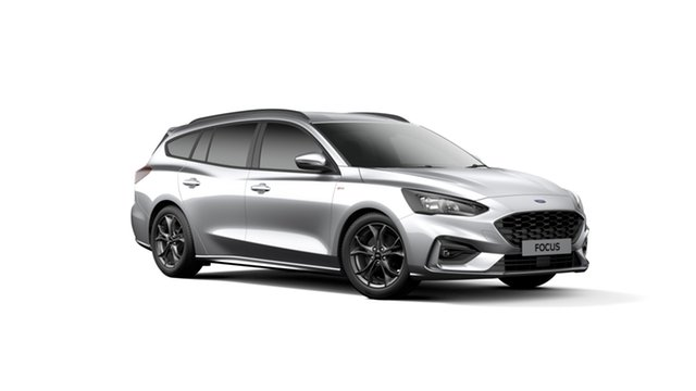 New Ford Focus SA 2019.75MY ST-Line, 2019 Ford Focus SA 2019.75MY ST-Line Moondust Silver 8 Speed Automatic Wagon