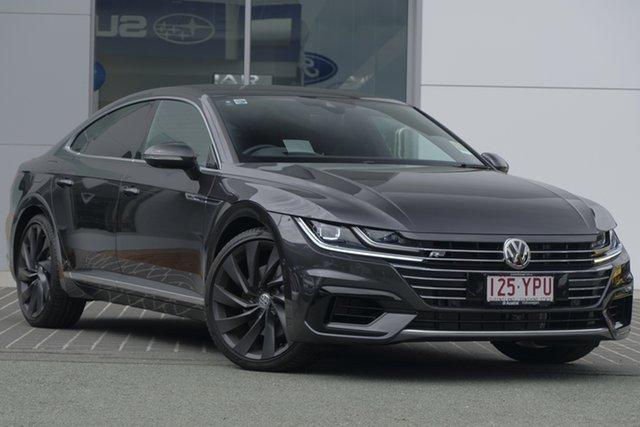 Demo Volkswagen Arteon 3H MY18 206TSI Sedan DSG 4MOTION R-Line, 2018 Volkswagen Arteon 3H MY18 206TSI Sedan DSG 4MOTION R-Line Manganese Grey Metallic 7 Speed