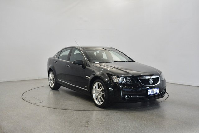 Used Holden Calais VE II V Redline, 2011 Holden Calais VE II V Redline Black 6 Speed Sports Automatic Sedan