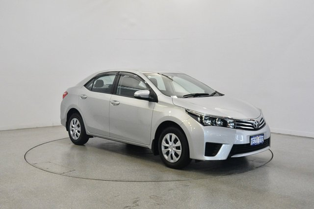 Used Toyota Corolla ZRE172R Ascent S-CVT, 2016 Toyota Corolla ZRE172R Ascent S-CVT Silver 7 Speed Constant Variable Sedan