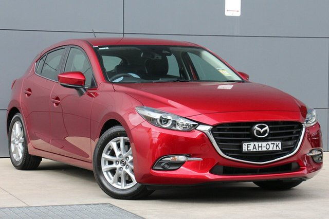 Demo Mazda 3 BN5478 Touring SKYACTIV-Drive, 2018 Mazda 3 BN5478 Touring SKYACTIV-Drive Soul Red Crystal 6 Speed Sports Automatic Hatchback