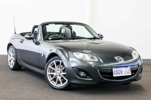 Used Mazda MX-5 NC MY09 Touring, 2010 Mazda MX-5 NC MY09 Touring Grey 6 Speed Manual Convertible