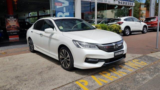 Demo Honda Accord 9th Gen MY18 V6L, 2018 Honda Accord 9th Gen MY18 V6L White Orchid 6 Speed Sports Automatic Sedan