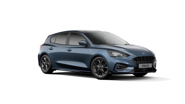 New Ford Focus SA 2019.75MY ST-Line, 2019 Ford Focus SA 2019.75MY ST-Line Blue Metallic 8 Speed Automatic Hatchback