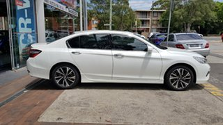 2018 Honda Accord 9th Gen MY18 V6L White Orchid 6 Speed Sports Automatic Sedan