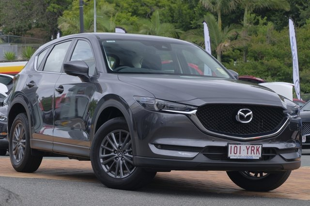 Demo Mazda CX-5 KF4W2A Touring SKYACTIV-Drive i-ACTIV AWD, 2018 Mazda CX-5 KF4W2A Touring SKYACTIV-Drive i-ACTIV AWD Machine Grey 6 Speed Sports Automatic